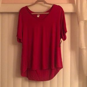 Old navy luxe t shirt
